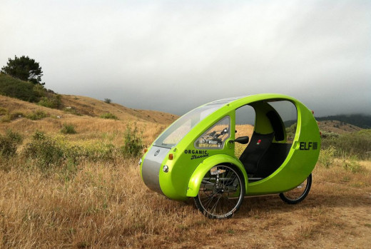 Futuristic looking and can handle any type of terrain a bicycle can! Also perfect for commuting on roads.