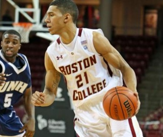 Boston College junior point guard Olivier Hanlan