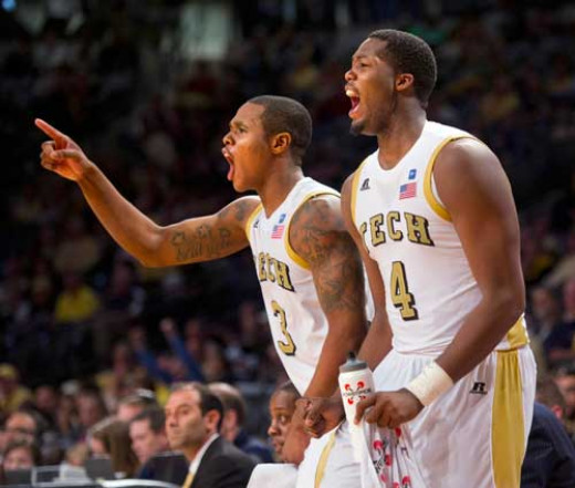 Georgia Tech sophomores Marcus Georges-Hunt and Robert Carter