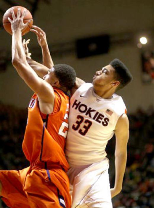Virginia Tech sophomore Marshall Wood