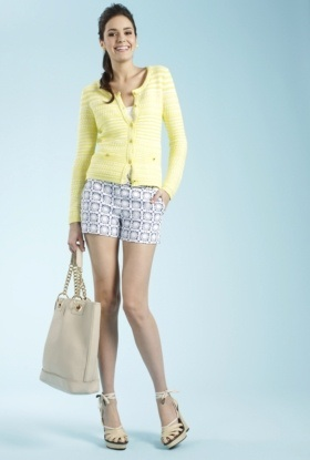 Trina Turk shorts with flats will take you anywhere.