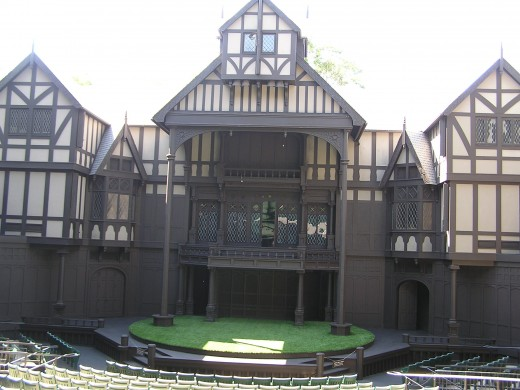 The Elizabethan Theater in Ashland.