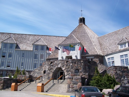 Summer at Timberline Lodge.