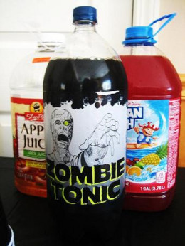 Don't forget the zombie tonic.