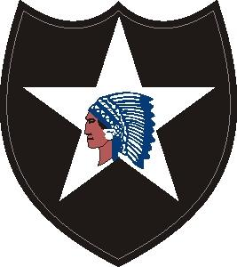 2nd ID shoulder patch