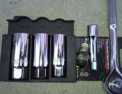 Figure 1.  My 3 Spark Plug Socket Set