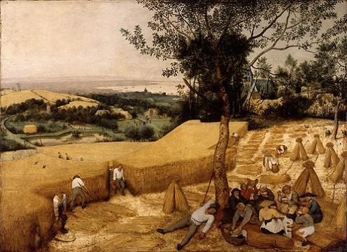 """""""The Harvesters"""" by Pieter Brueghel the Elder."""