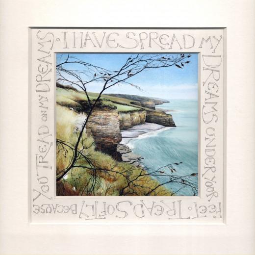 Calligraphy Print by Helen Lush