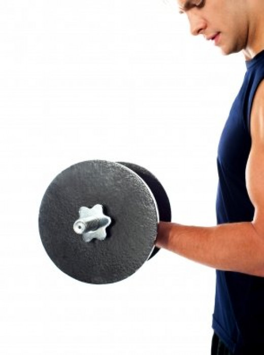 Exercising and working out can have a big impact on a guy's psyche. Motivate your guy to hit the gym and if he feels conscious, gift him a pair of weights.