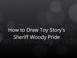 How to Draw Toy Story's Sheriff Woody Pride