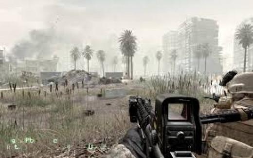 Modern Warfare Game play