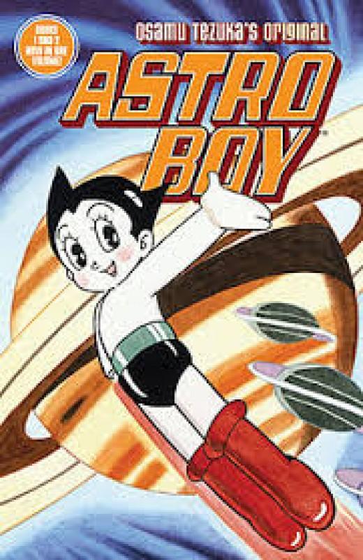 Picture of original Astro Boy