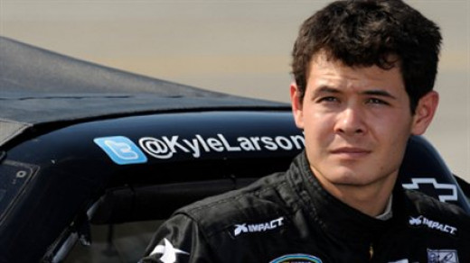 Ganassi developmental driver Kyle Larson is waiting for a chance at the Sprint Cup level
