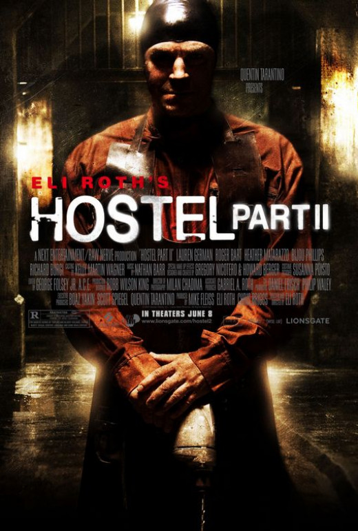 Hostel Part II Poster
