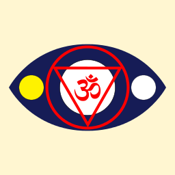 Symbol for Ajna, the 6th Chakra
