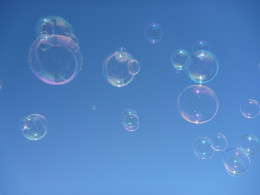 I like bubbles!