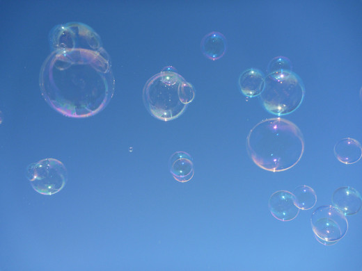 I like bubbles!
