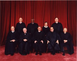 What is the annual salary for a Supreme Court Chief Justice?