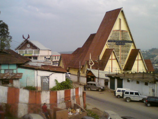 Ao Baptist Church, Dimapur is one of the largest places of worship in Nagaland.