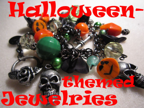 Beautiful and unique jewelries with a Halloween theme