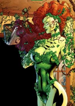 Poison Ivy Green Skin