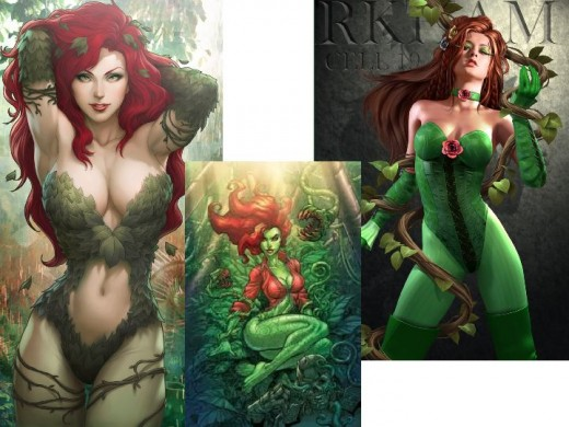 Variant Poison Ivy Costumes