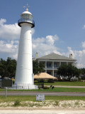 The Biloxi Lighthouse in Mississippi