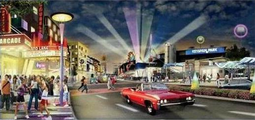 Soon after, the Coney Island Development Corporatin changed plans for entertainment and arcades along Surf Ave instead of retail and residential, as shown in this artwork they released.