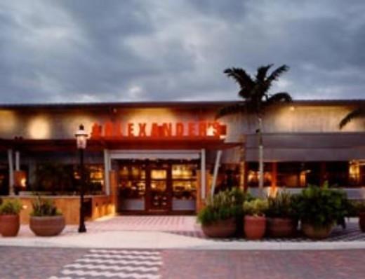 Alexander's in Naples, FL.