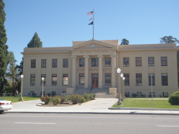 Inyo County Courthouse, Independence, California. Classical revival.