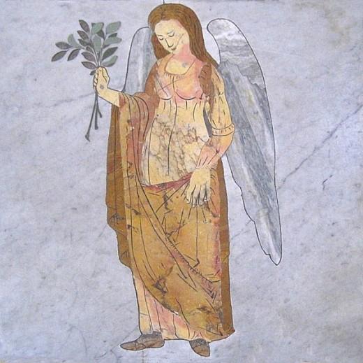 Vierge Méridienne de S. Maria degli Angeli by Jean Pol Grandmont