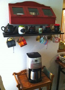 DIY Projects: Coffee Bar