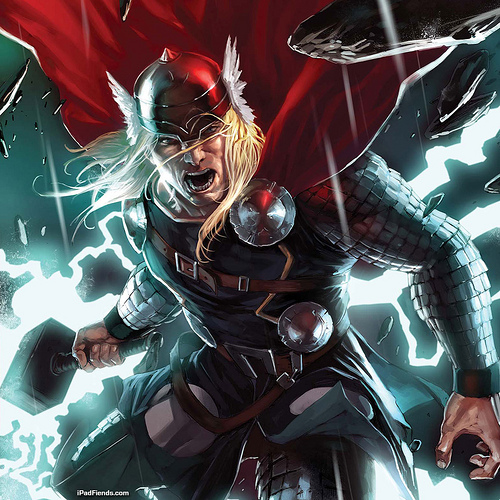 Thor from Marvel