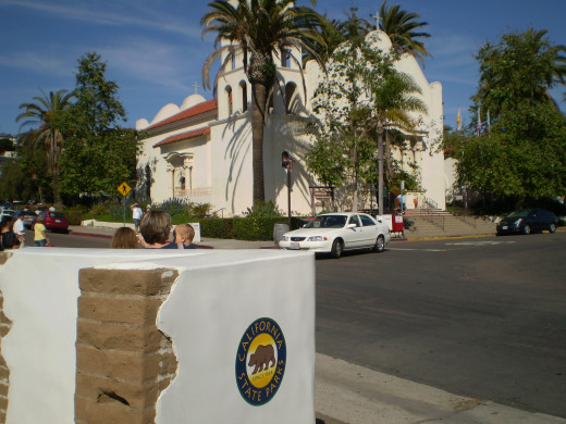 Entrance to Old Town San Diego State Historic Park.