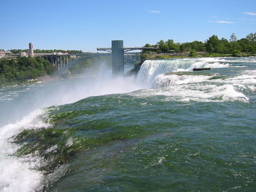 """Part of the atmosphere of """"The Falls"""" by Joyce Carol Oates, a favorite honeymoon destination."""
