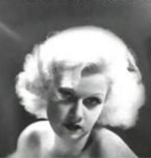 "Jean Harlow from ""Dinner at Eight"" movie still"