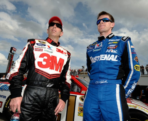 Biffle and Edwards have to be considered the favorites
