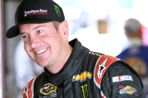 Unlike brother Kyle, Kurt Busch has struggled at the Michigan track