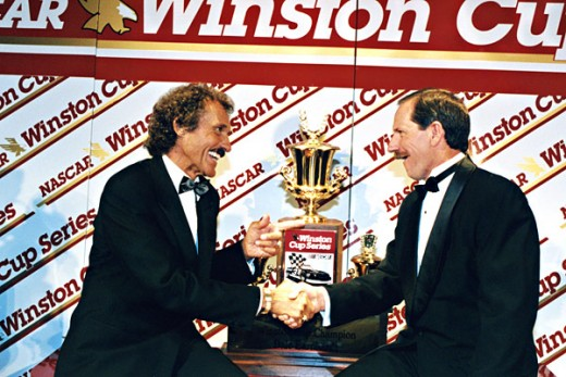Petty and Earnhardt were drivers that fans could identify with