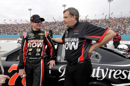 With the owner also being the primary sponsor, Busch has clear lines of communication at Furniture Row