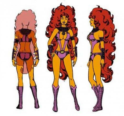 Starfire Costume History