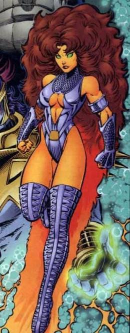 Starfire Full Body Costume