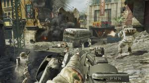 Call of Duty Black Ops Multi player Game Play