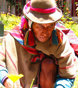A Shaman from Peru
