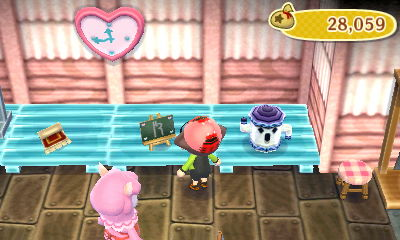 Flea Market at Re-Tail in New Leaf