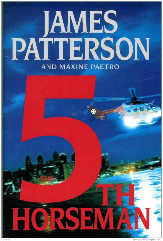 """Front cover of """"The 5th Horseman,"""" by James Patterson."""
