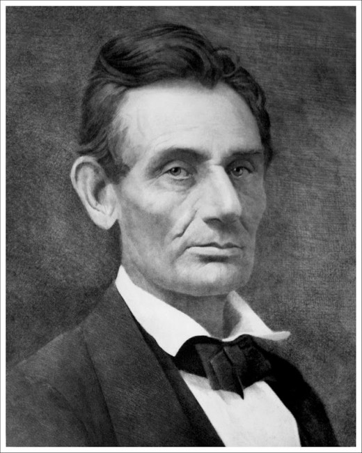 Abraham Lincoln 1859 photo by Samuel Monetgue Fassett.. Ralph Deeds photograph of AW Elson 1893 photogravure of Original Fassett Photograph.