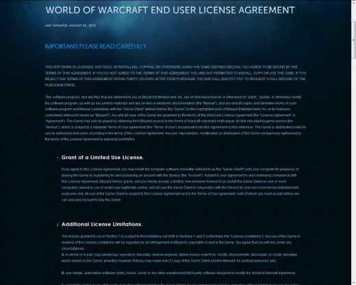 The End User License Agreement prohibits duplicating and hosting the game.