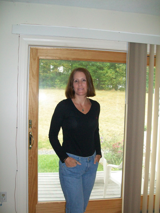 Me after losing seventy pounds. Sorry no before photos I was always to self conscious to have my picture taken.