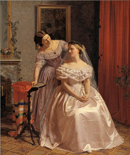 The tradition of bridesmaids is a very old one dating to Roman times.